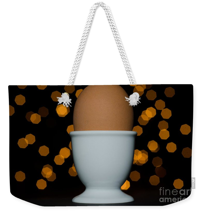 Egg Weekender Tote Bag featuring the photograph Egg by Mats Silvan
