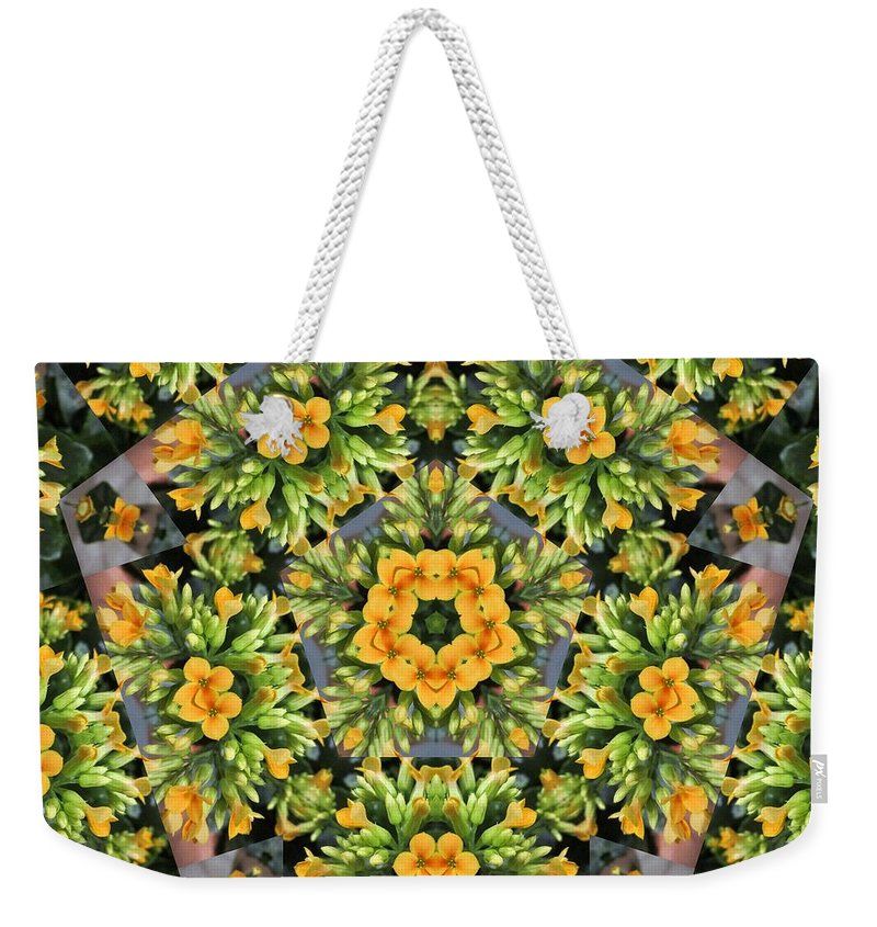 Flower Weekender Tote Bag featuring the photograph Emerson by Trish Tritz