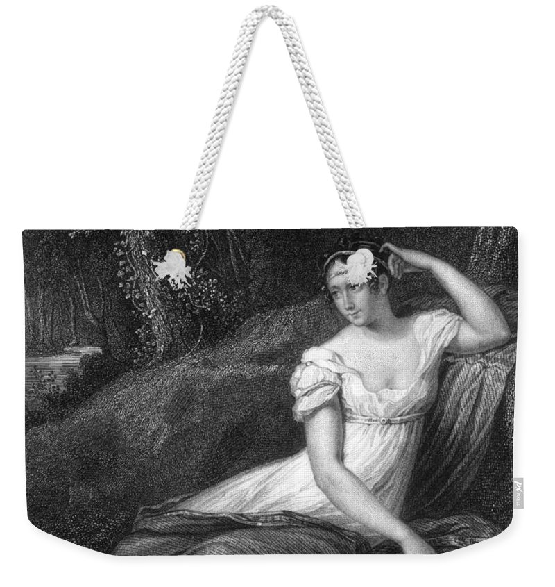 19th Century Weekender Tote Bag featuring the photograph Empress Josephine by Granger