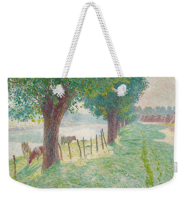 End Of August Weekender Tote Bag featuring the painting End Of August by Emile Claus