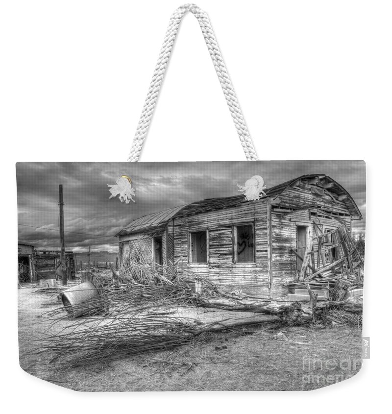 Dreams Weekender Tote Bag featuring the photograph The End by Bob Christopher