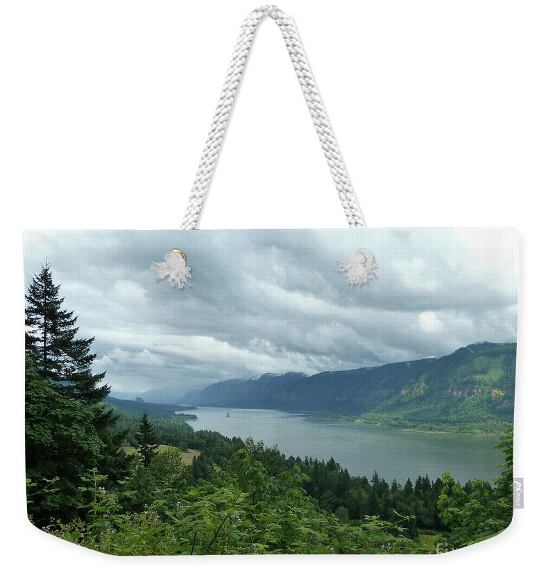 Landscape Weekender Tote Bag featuring the photograph Endless by Lauren Leigh Hunter Fine Art Photography