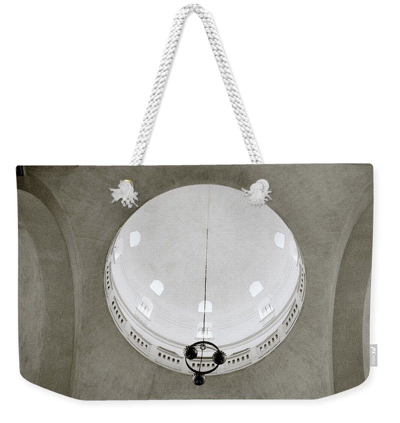 Asia Weekender Tote Bag featuring the photograph Ethereal Light by Shaun Higson