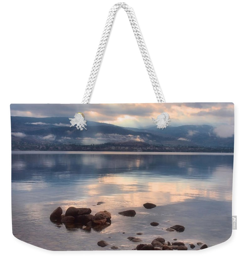 Light Weekender Tote Bag featuring the photograph Even Rainy Mondays Can Be Beautiful by Tara Turner