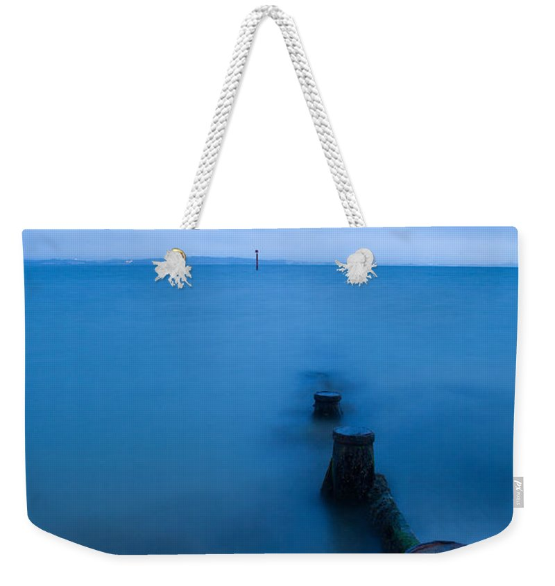 Dusk Weekender Tote Bag featuring the photograph Evening Blues by Ian Middleton