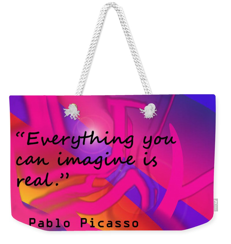 Poster Weekender Tote Bag featuring the photograph Everything You Imagine by Ian MacDonald