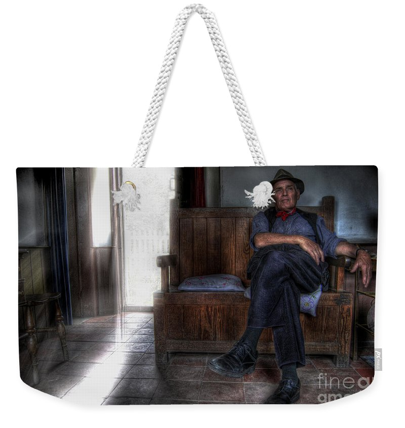Art Weekender Tote Bag featuring the photograph Exit by Yhun Suarez