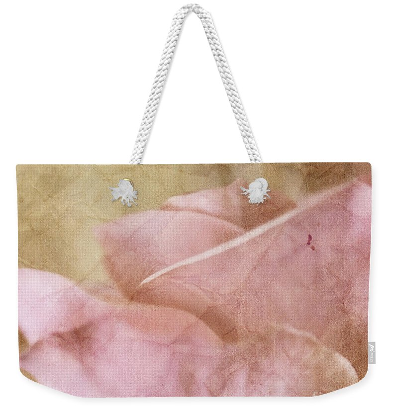 Faded Weekender Tote Bag featuring the photograph Faded Past by Traci Cottingham