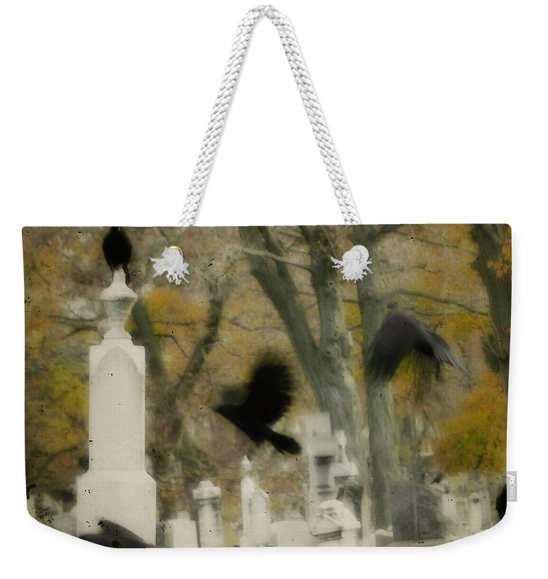 Autumn Weekender Tote Bag featuring the photograph Fall Fling by Gothicrow Images