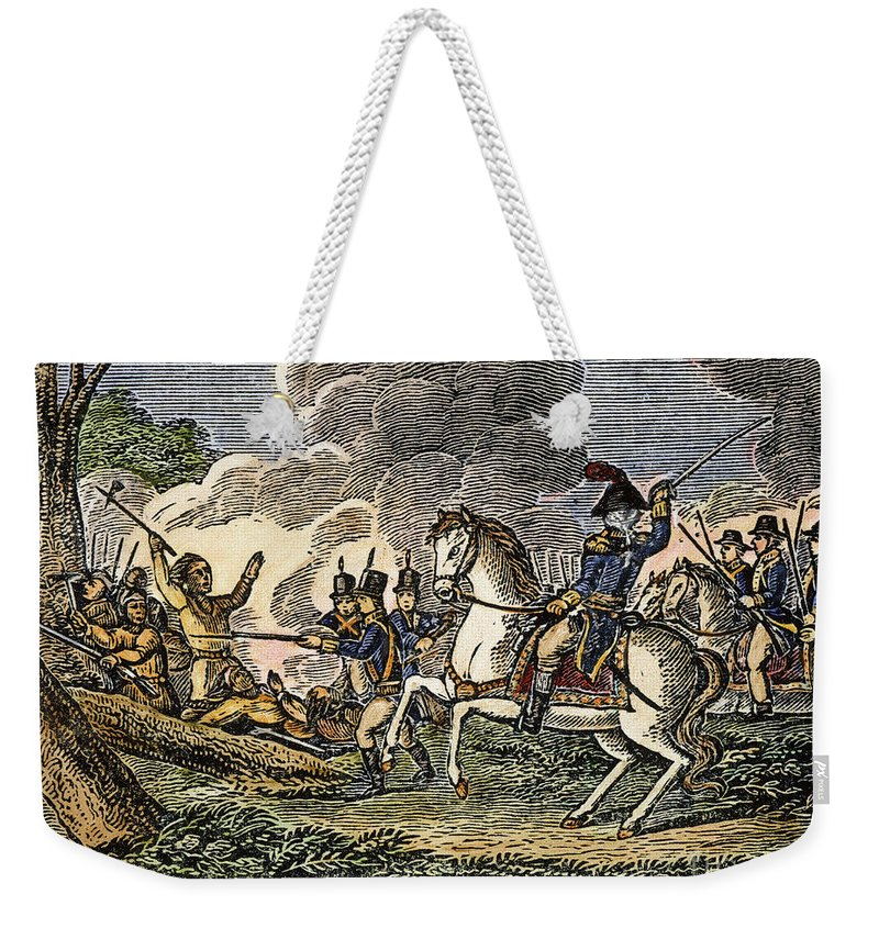 1794 Weekender Tote Bag featuring the photograph Fallen Timbers Battle by Granger
