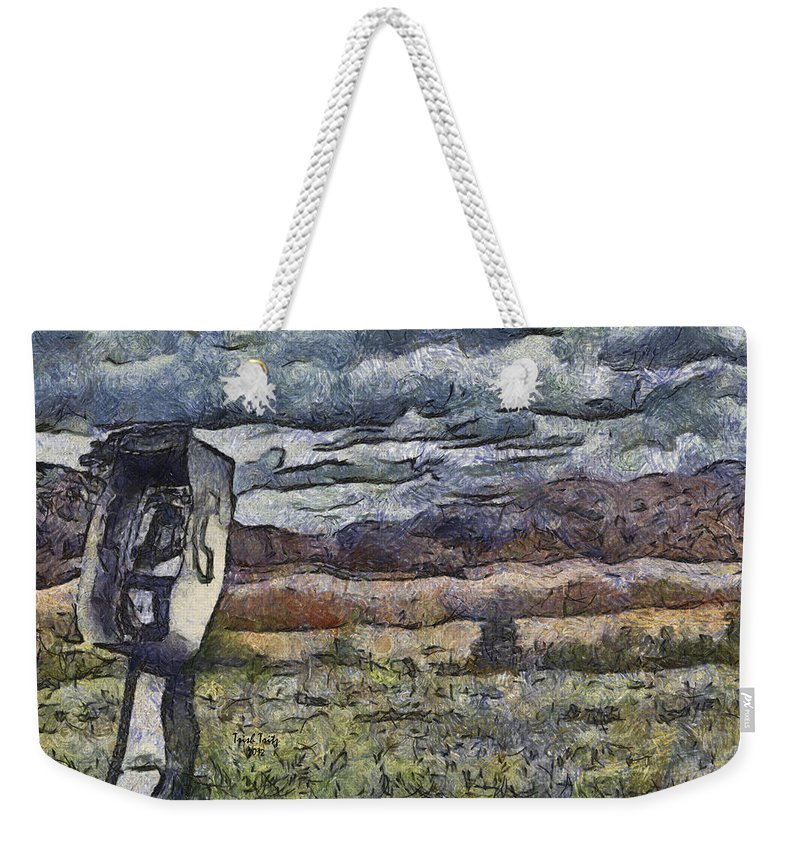 Phone Weekender Tote Bag featuring the photograph Falling Skies by Trish Tritz