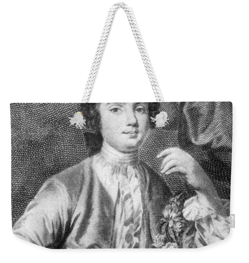 18th Century Weekender Tote Bag featuring the photograph Farinelli (1705-1782) by Granger