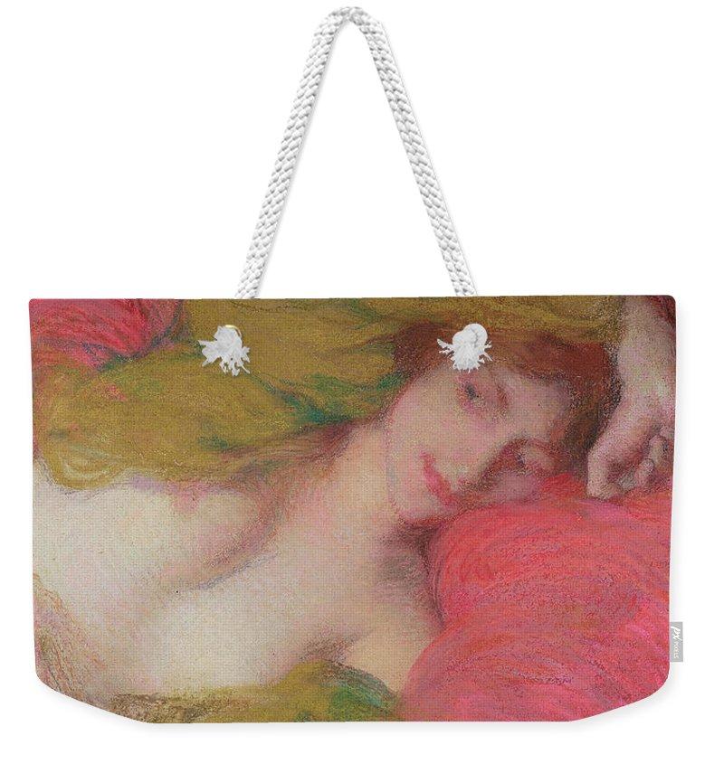 e6e152fd3281a Farniente Weekender Tote Bag for Sale by Edmond-Francois Aman-Jean
