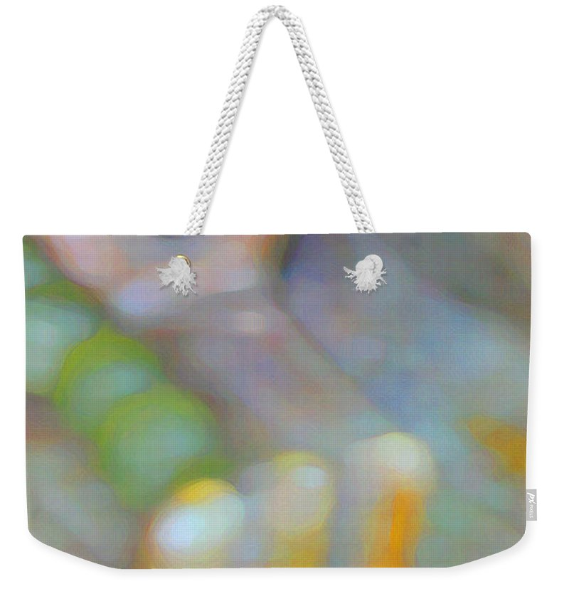 Abstract Weekender Tote Bag featuring the digital art Fearlessness by Richard Laeton
