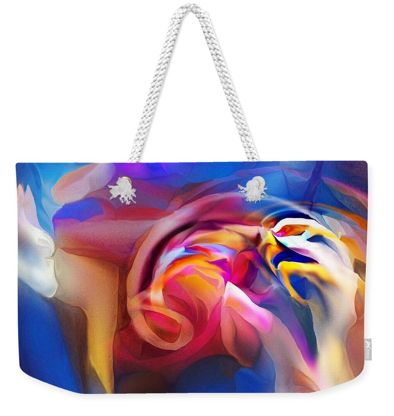 Fine Art Weekender Tote Bag featuring the photograph Feed Your Head by David Lane