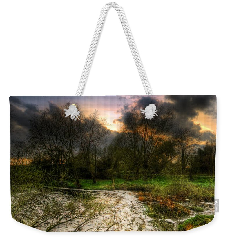 Art Weekender Tote Bag featuring the photograph Feeling Over The Weather by Yhun Suarez