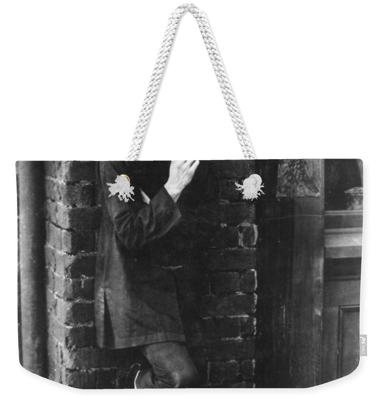 1919 Weekender Tote Bag featuring the photograph Film: Broken Blossoms, 1919 by Granger