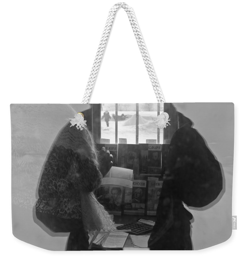 Commercial Buildings Weekender Tote Bag featuring the photograph Fine Impulses Of The Soul by Michael Goyberg