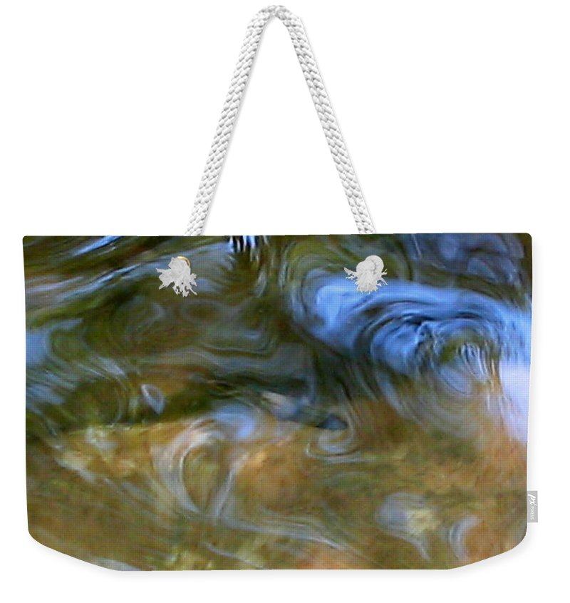 Fish Weekender Tote Bag featuring the photograph Fish In Rippling Water by April Patterson