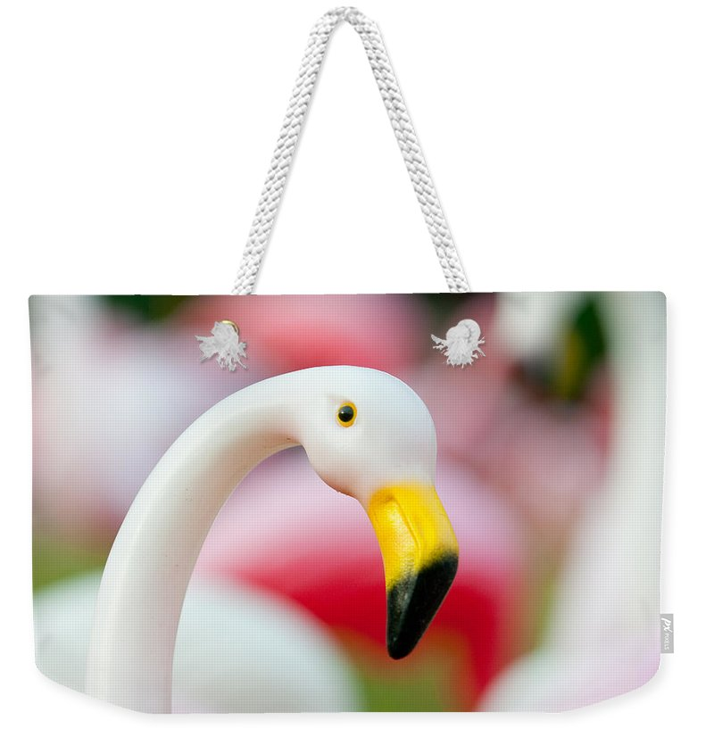 Austin Weekender Tote Bag featuring the photograph Flamingo 3 by Sean Wray