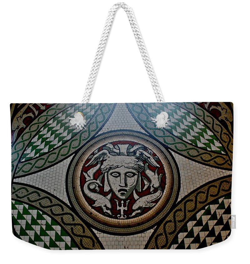 Floor Weekender Tote Bag featuring the photograph Floor At Victoria And Albert Museum by Eric Tressler