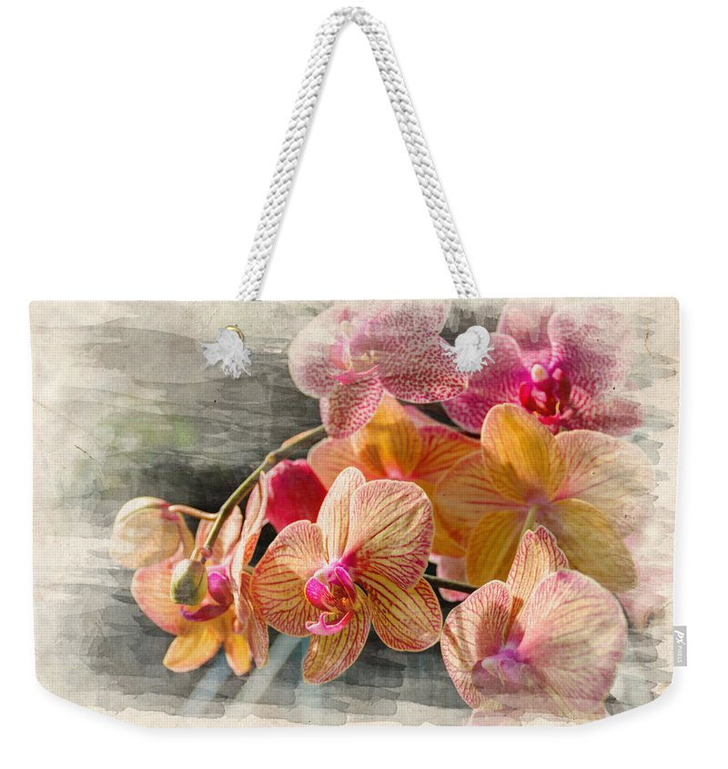 Beauty Weekender Tote Bag featuring the photograph Floral Beauty by Ricky Barnard