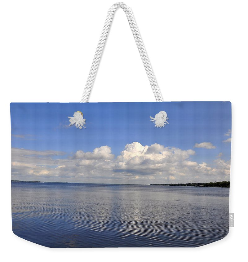 High Quality Weekender Tote Bag featuring the photograph Floridian View by Sarah McKoy