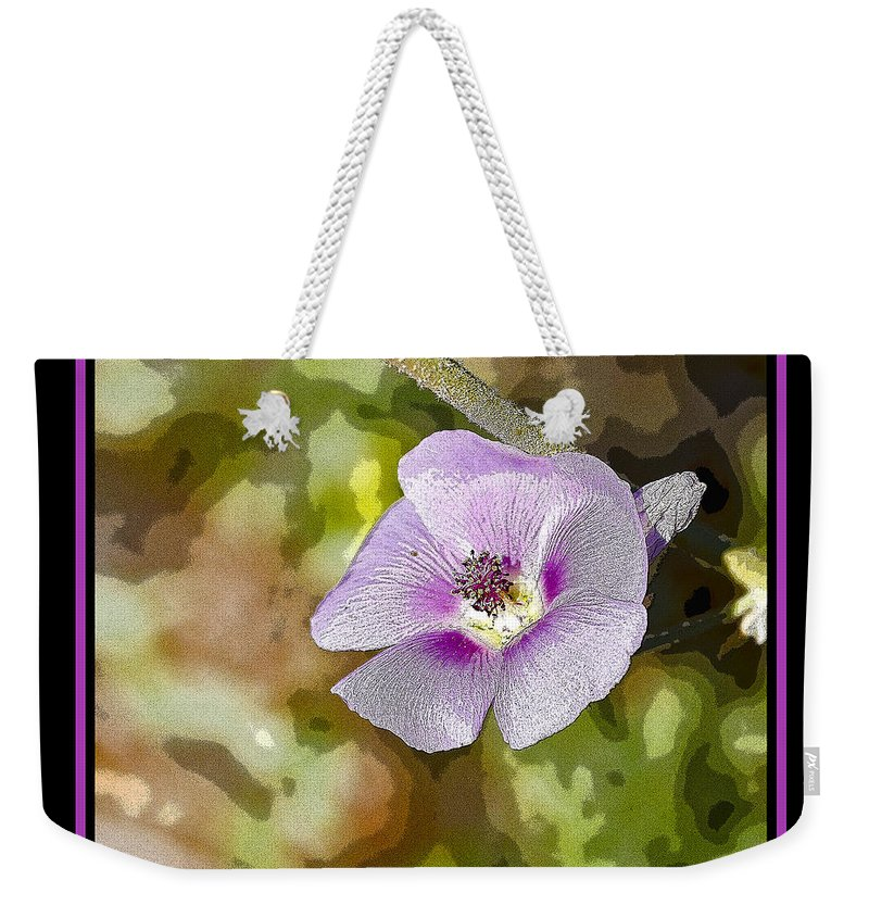 Flower Weekender Tote Bag featuring the photograph Flower 4 by Larry White
