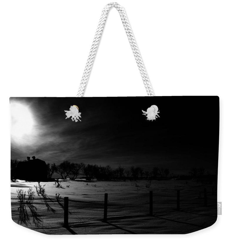 : Jerry Cordeiro Photographs Photographs Photographs Photographs Photographs Weekender Tote Bag featuring the photograph Followed Goat by The Artist Project