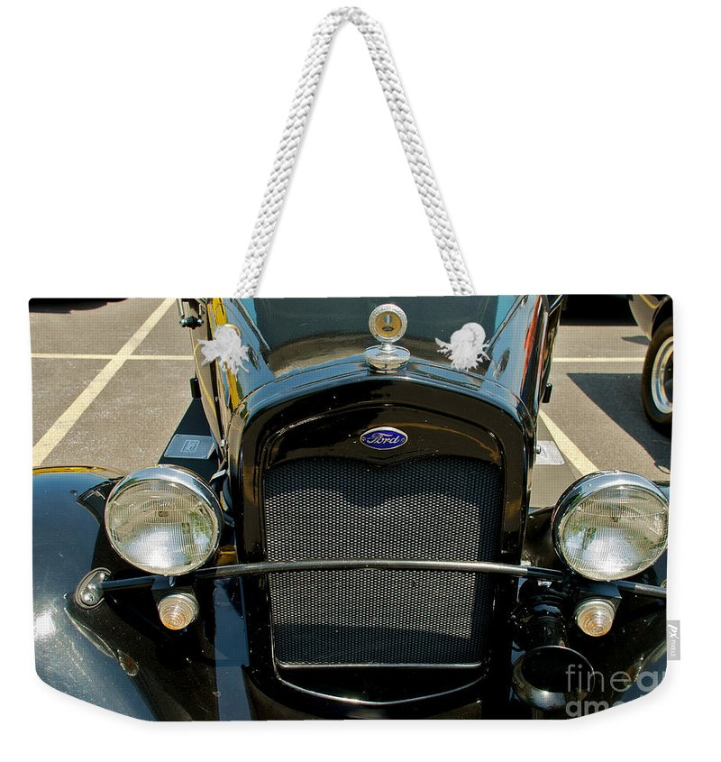 Ford Street Rod Weekender Tote Bag featuring the photograph Ford Street Rod by Mark Dodd