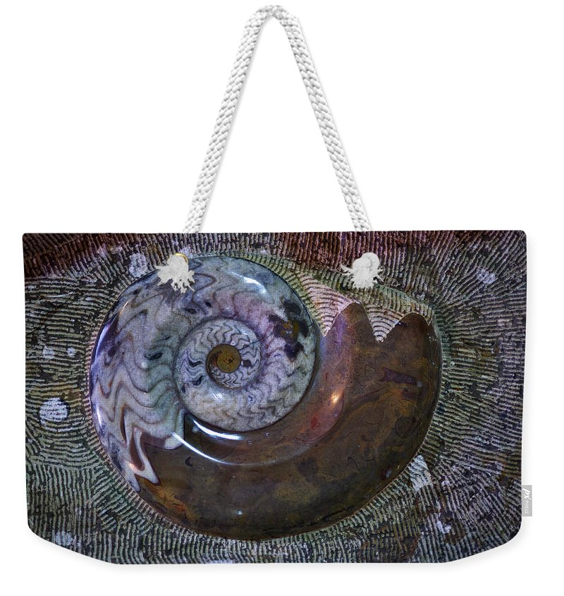 Fossil Weekender Tote Bag featuring the photograph Fossil by Ivan Slosar
