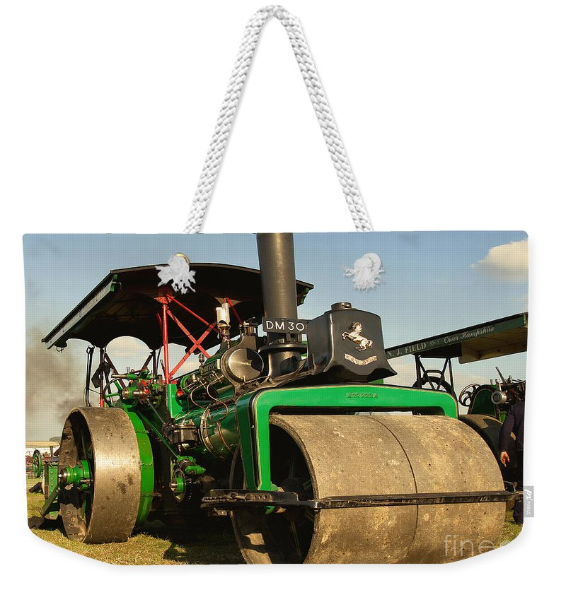 Fred Dibnah Weekender Tote Bag featuring the photograph Fred's Betsy by Rob Hawkins