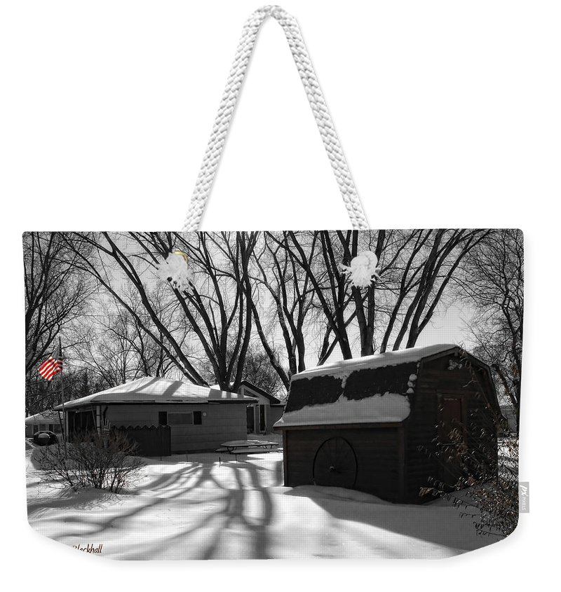 Winter Weekender Tote Bag featuring the photograph Freedom From Winter by Donna Blackhall