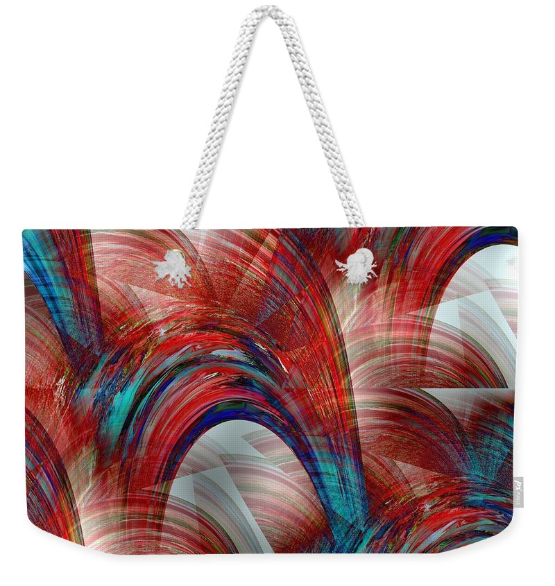 United States Weekender Tote Bag featuring the photograph From Sea To Shining Sea by Maria Urso