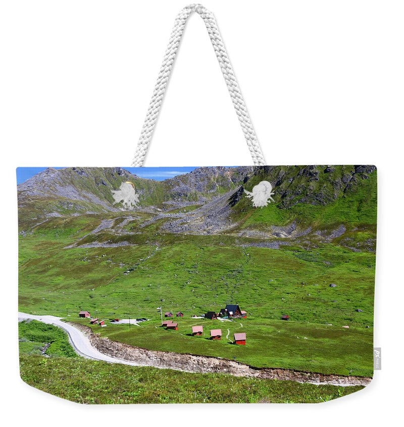 Doug Lloyd Weekender Tote Bag featuring the photograph From The Top by Doug Lloyd