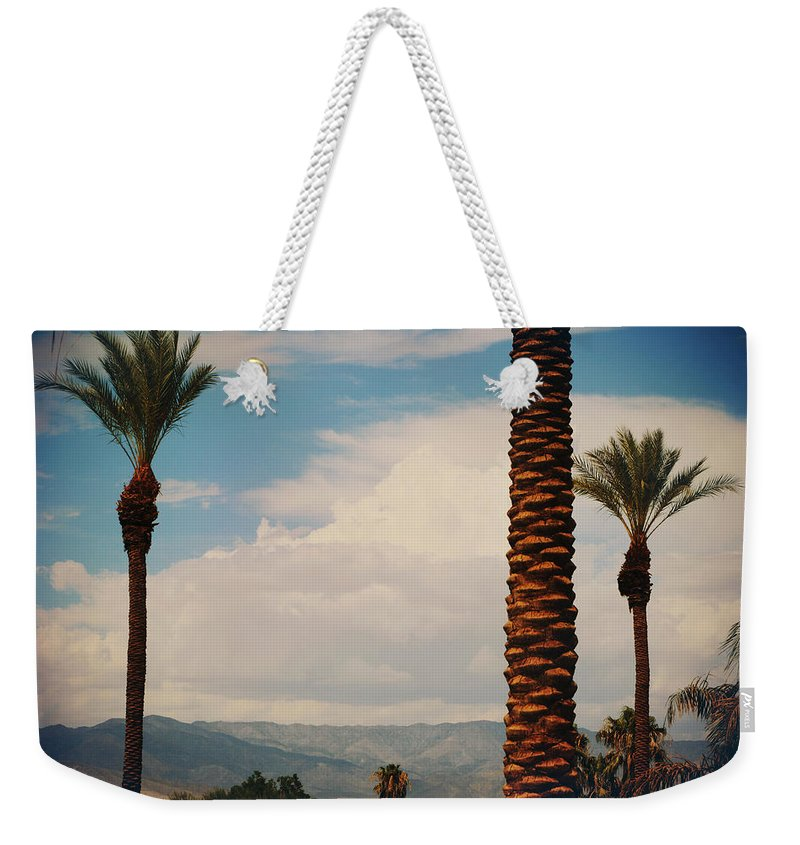 La Quinta Weekender Tote Bag featuring the photograph From Today On by Laurie Search