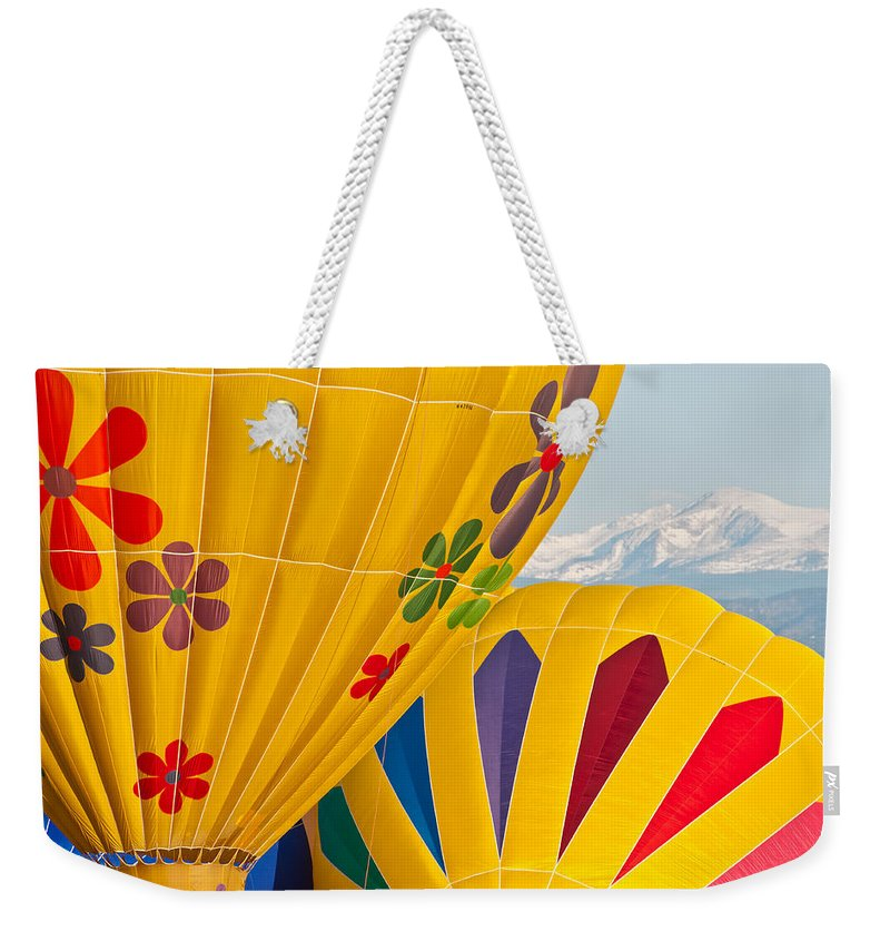 Hot Weekender Tote Bag featuring the photograph Front Range Color by Colleen Coccia