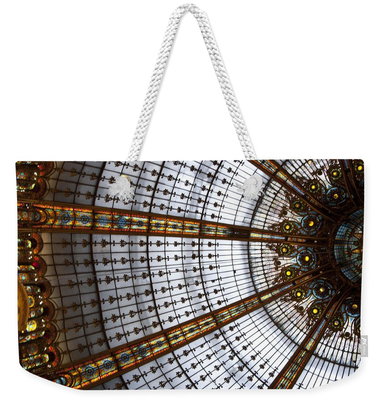 France Weekender Tote Bag featuring the photograph Galleries Laffayette II by Jon Berghoff