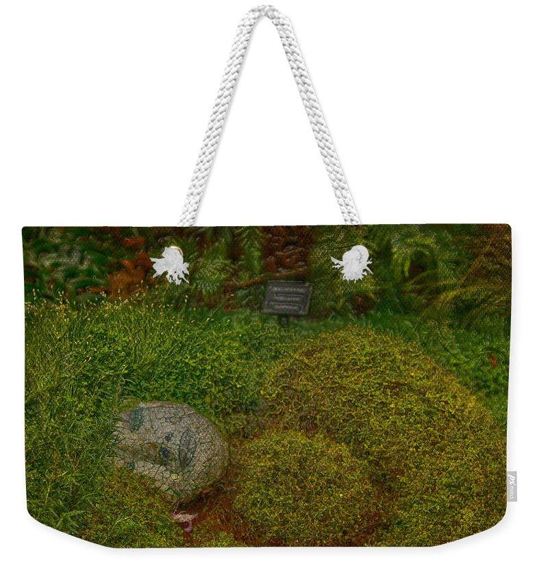 Jerry Cordeiro Framed Prints Framed Prints Photographs Photographs Photographs Weekender Tote Bag featuring the photograph Garden Of Dreams by The Artist Project