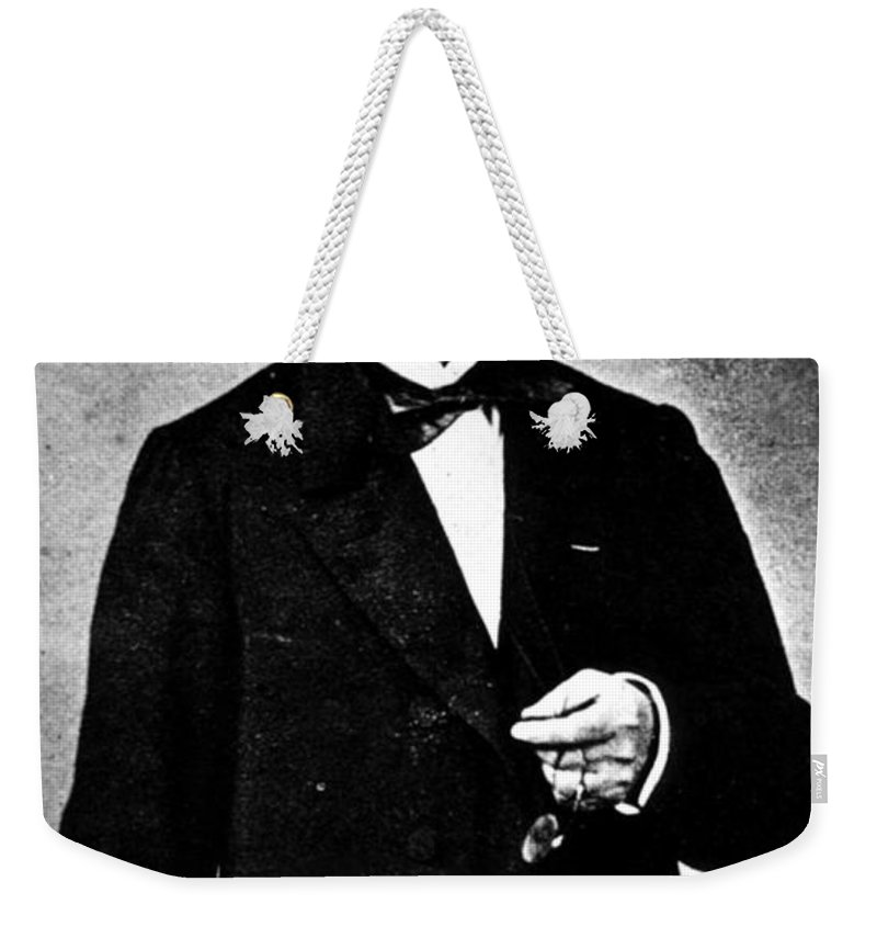 Science Weekender Tote Bag featuring the photograph G.b.a. Duchenne, French Neurologist by Science Source