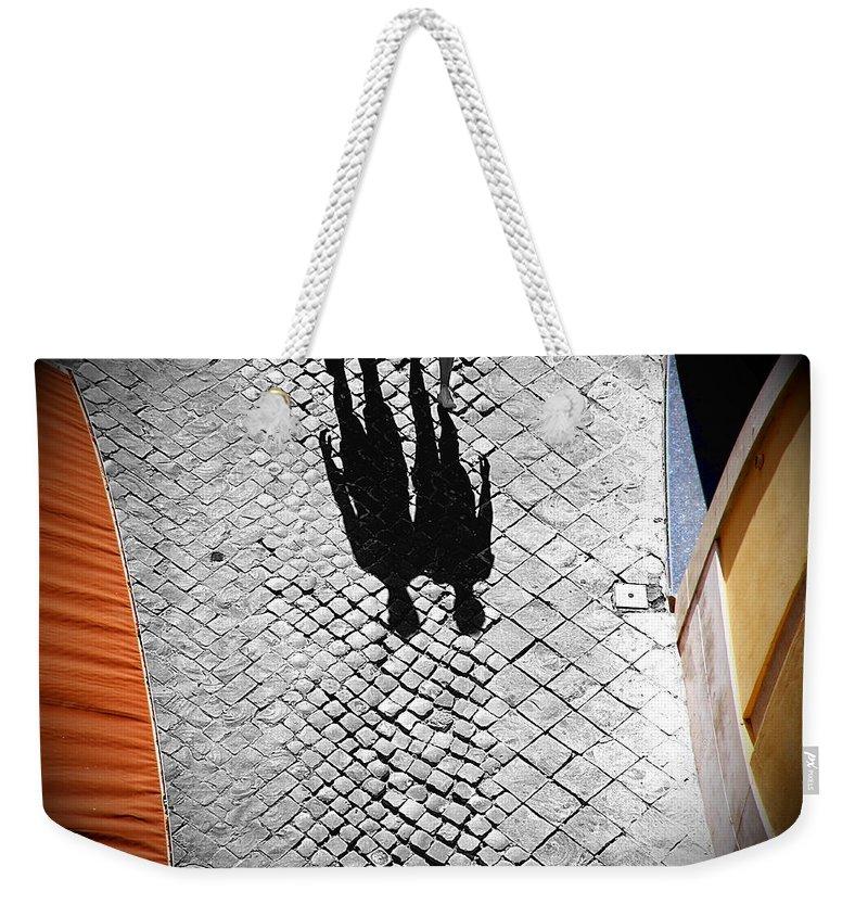Gemini Weekender Tote Bag featuring the photograph Gemini by Valentino Visentini