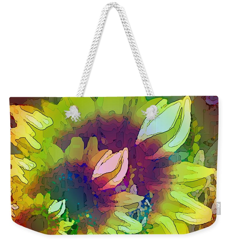 Family Weekender Tote Bag featuring the digital art Generations by Tim Allen