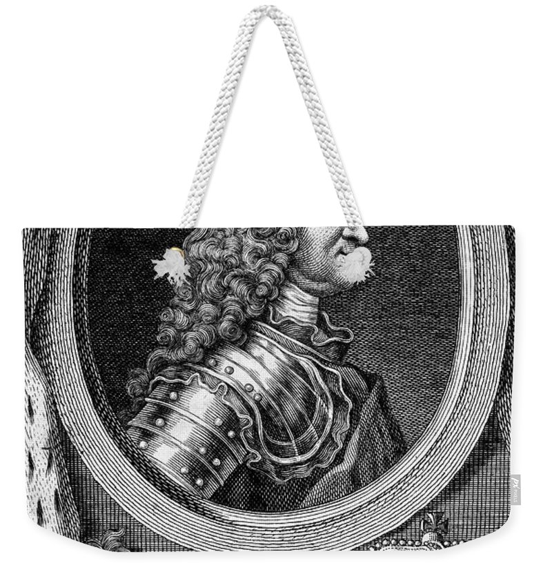 18th Century Weekender Tote Bag featuring the photograph George II (1683-1760) by Granger