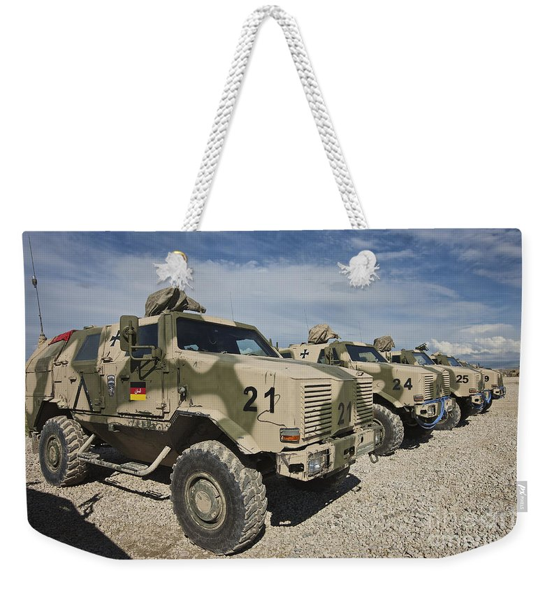 Armored Vehicles For Sale >> German Army Atf Dingo Armored Vehicles Weekender Tote Bag
