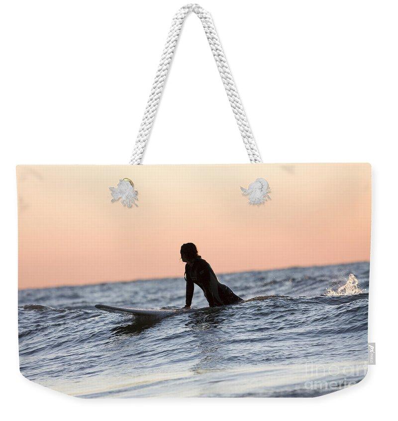 Lake Michigan Weekender Tote Bags