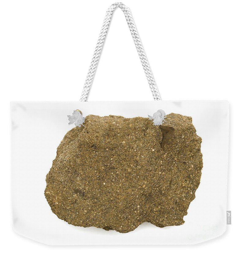 Geology Weekender Tote Bag featuring the photograph Glauconite Sandstone by Ted Kinsman