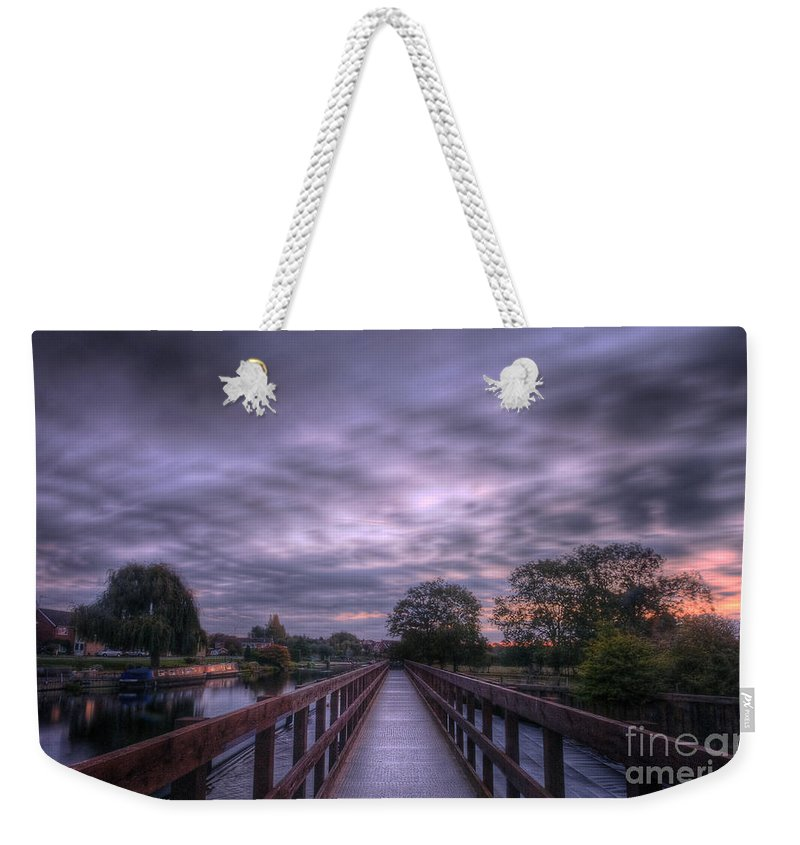 Tunnel Vision Weekender Tote Bag featuring the photograph Going Steady 2.0 by Yhun Suarez