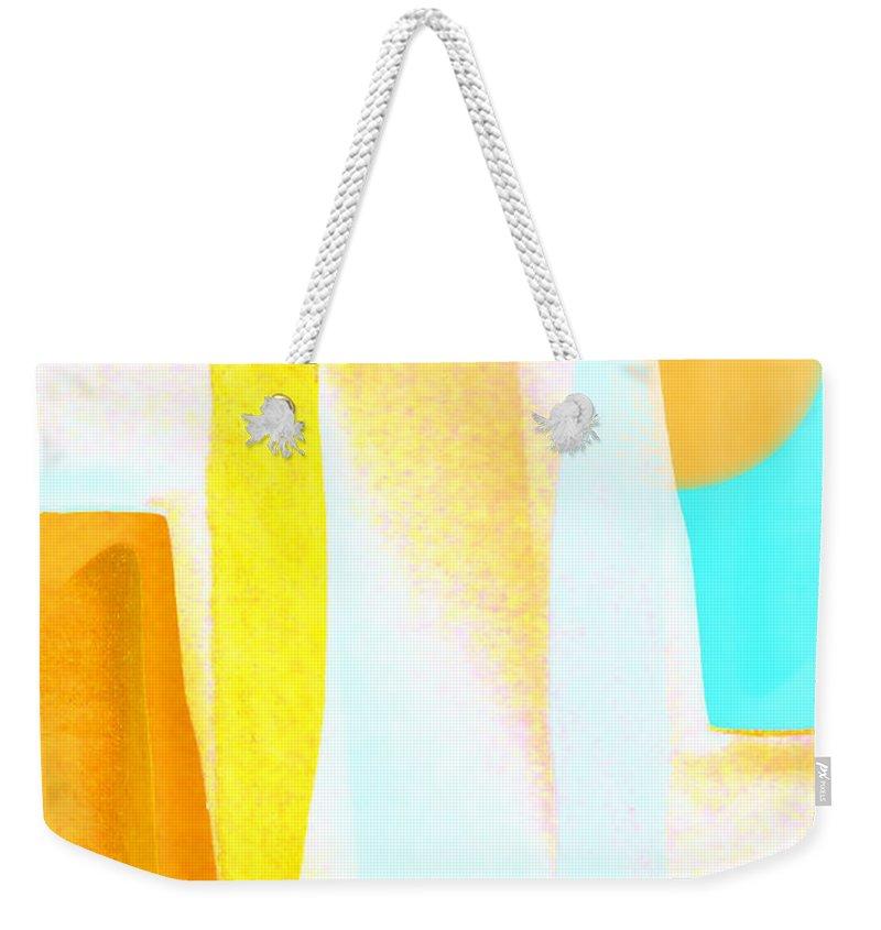 Bright Sun Weekender Tote Bags