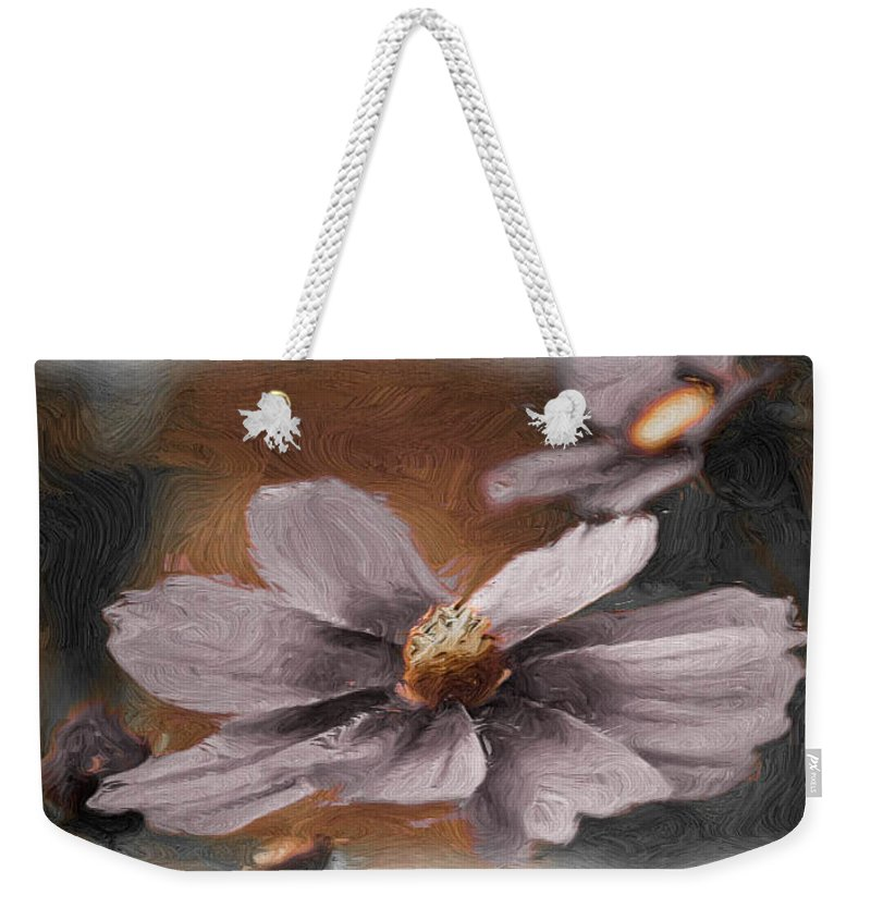 Petal Weekender Tote Bag featuring the photograph Golden Eye by Trish Tritz