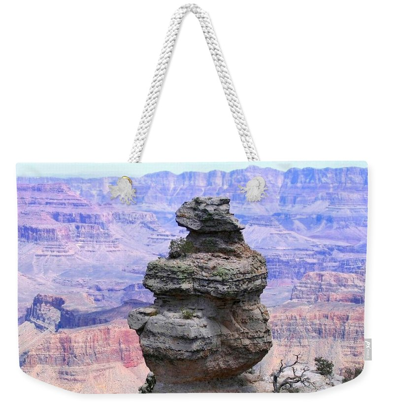 Grand Canyon Weekender Tote Bag featuring the photograph Grand Canyon 58 by Will Borden